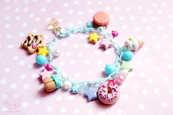 Cute Jewelry Kawaii Miniatures Rainbow Image Favim | Online Jewelry