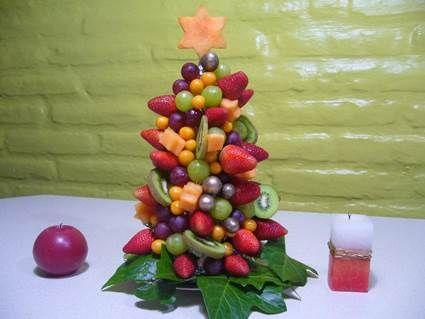 40 best images about centros de mesas con frutas on - Centros navidenos de mesa ...
