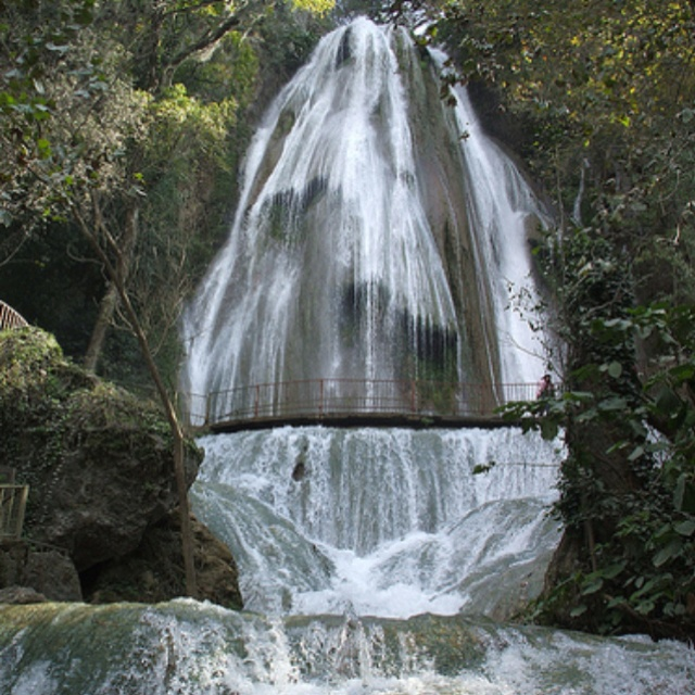 Ponytail waterfall - Monterrey Mx