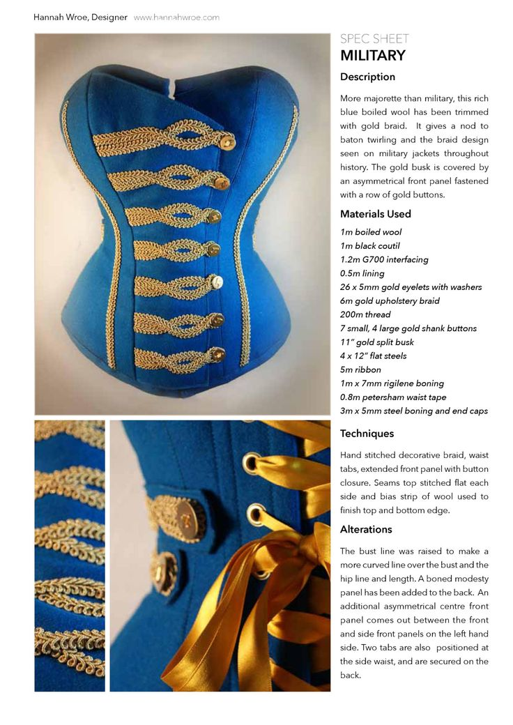 Download the military spec sheet to see the... - Flossing & Lace