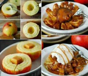Blooming Baked Apple