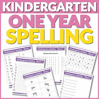 8 best have fun teaching access images on pinterest lesson this kindergarten one year spelling curriculum includes 36 weeks of grade level spelling lists spelling fandeluxe Choice Image