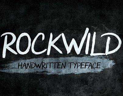 "Check out new work on my @Behance portfolio: ""Rockwild Typeface"" http://be.net/gallery/62106649/Rockwild-Typeface"