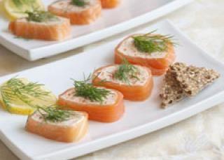 Terrine aux deux poissons et aux légumes