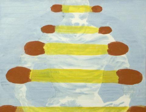 Tanja Smit Matches, 2008 egg tempera on paper 25 x 32 cm VIA