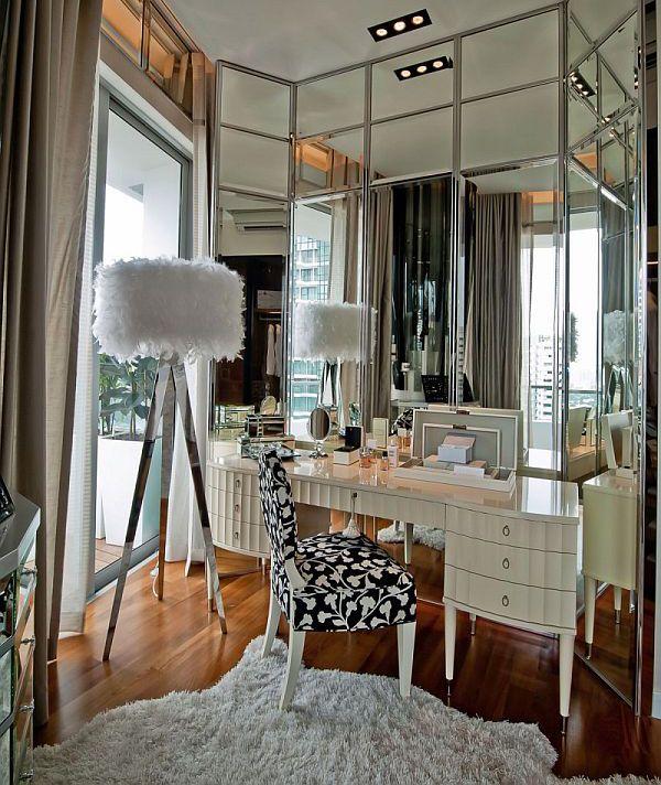 Фото из статьи: 24 гардеробные комнаты для полноценного женского счастья