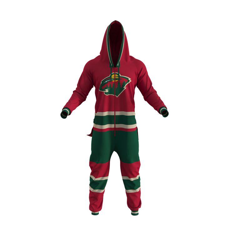 NHL Onesie - Minnesota Wild - Hockey Sockey