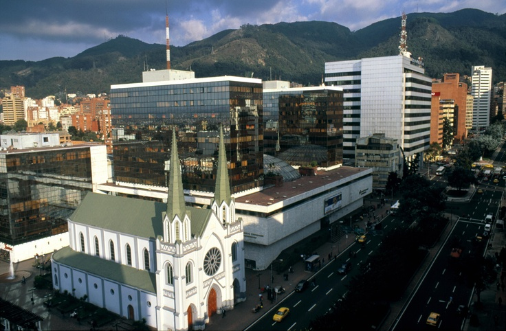 Chapinero district in Bogotá, #Colombia. Visit our website: http://www.going2colombia.com/