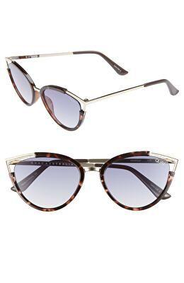 64c4bb53b76 QUAY AUSTRALIA Designer Hearsay 65mm Cat Eye Sunglasses