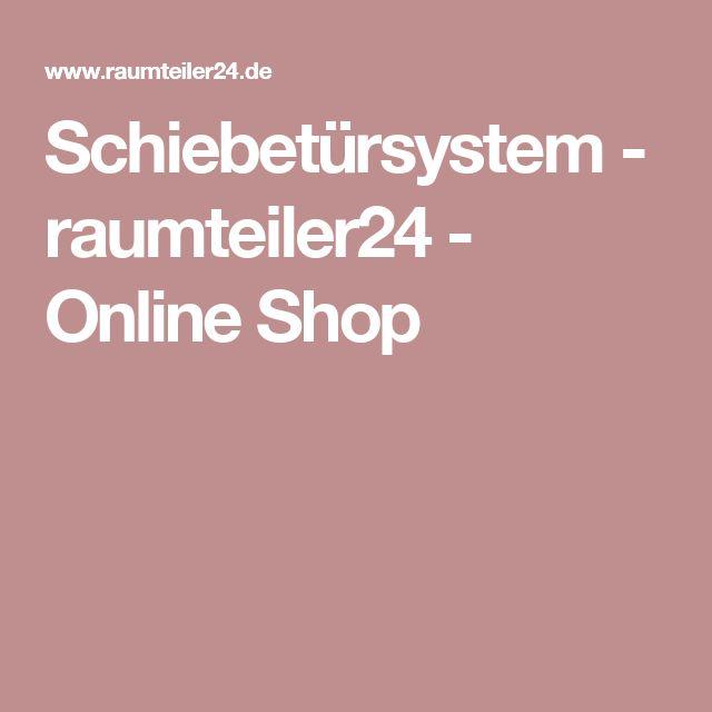 Schiebetürsystem - raumteiler24 - Online Shop