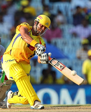 Suresh Raina powered Chennai Super Kings to 186 for 4 against Kings XI Punjab with an unbeaten century