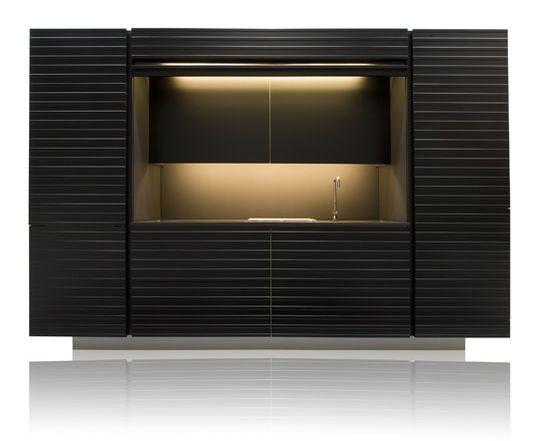 17 meilleures id es propos de cuisine compacte sur pinterest cuisine du studio cuisines. Black Bedroom Furniture Sets. Home Design Ideas