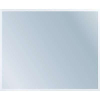 Style Selections 36-in x 48-in Silver Polished Rectangle Frameless Traditional Wall Mirror