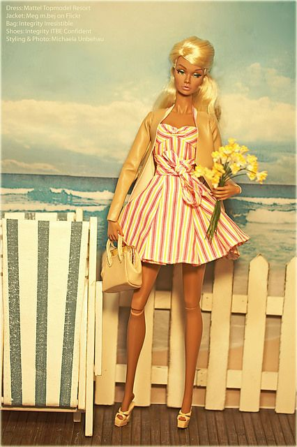 I Dream Of Summer | Flickr - Photo Sharing!. I have the dress...from the supermodel edition. Loves the jacket