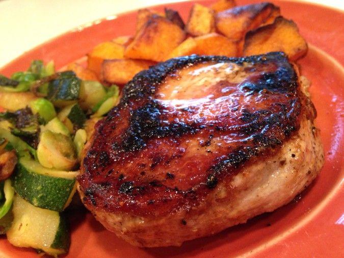 Fast Paleo Cajun Pork Chops