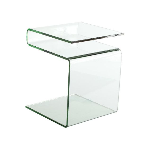 Acrylic Glass Dining Table Wisteria Glass Side Tables Glass