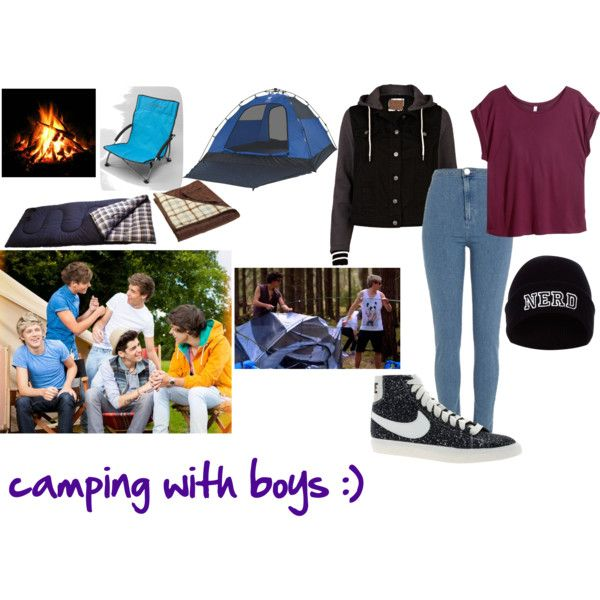 Camping with One Direction