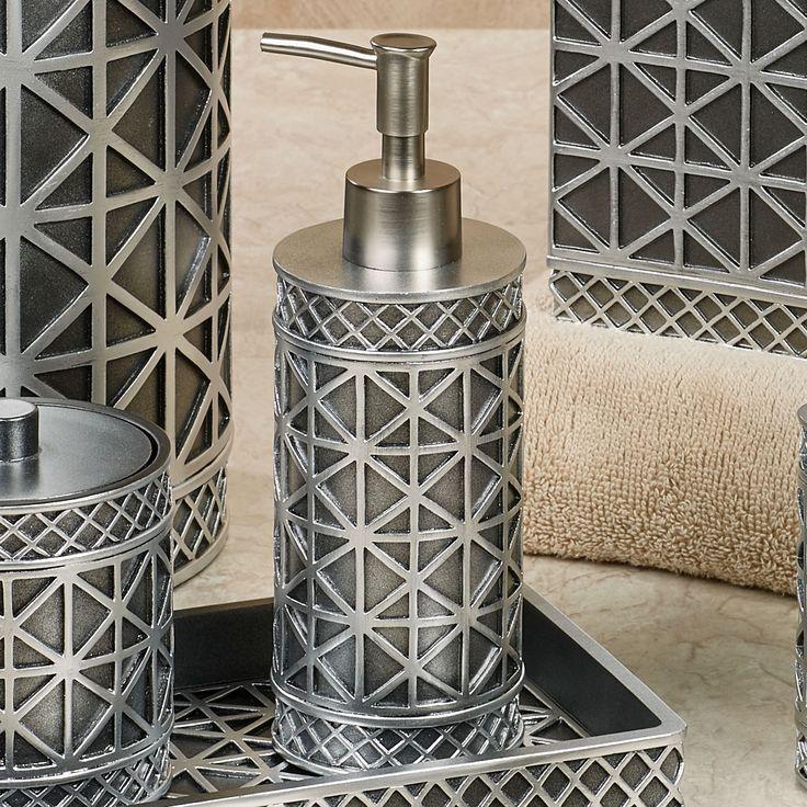 Eiffel Tower Geometric Bath Accessories   Bath accessories ...