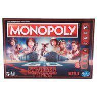 "In this Monopoly game inspired by the Netflix Original Series, Stranger Things, Will Byers has gone missing. Players choose an 80s-inspired token or one ""ripped from the Upside Down"" to move around the board trying to find him. Pretend to search the town of Hawkins and buy, sell, and trade locations and vehicles from the show. The game includes Walkie-Talkie and Blinking Lights cards, replacing Community Chest and Chance cards, while Forts and Hideouts replace houses and hotels. Who..."