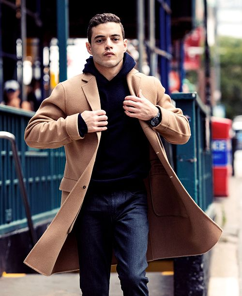 Rami Malekphotographed by Taylor...