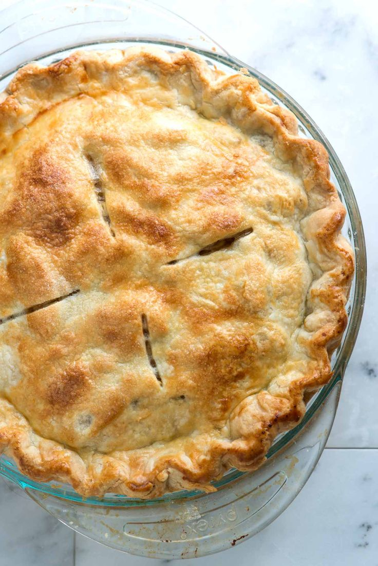 Easy, All-Butter Flaky Pie Crust Recipe
