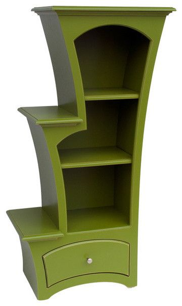 LOVE THIS!!  Great lines and functionality!! Bookcase No. 7 mediterranean bookcases.