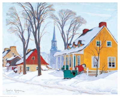 Clarence Alphonse Gagnon  Love this Canadian painter.