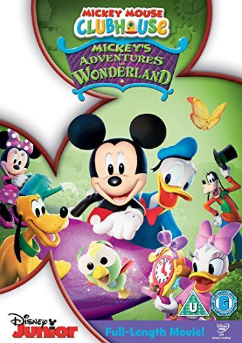 From 0.09 Mickey Mouse Clubhouse: Mickey's Adventures In Wonderland [dvd]