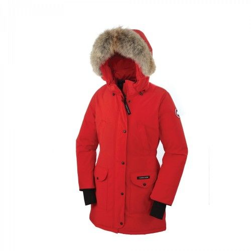Parkas Mujer - Baratas Canada Goose Trillium Parkas Rojo Mujer Outlet
