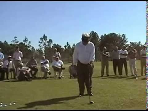 Moe Norman - 1997 Golf video Clinic (Part 1 of 6) online golf instruction - YouTube