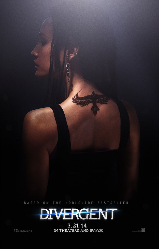"Tori | Exclusive ""Divergent"" Poster Reveals Dauntless Tattoos"