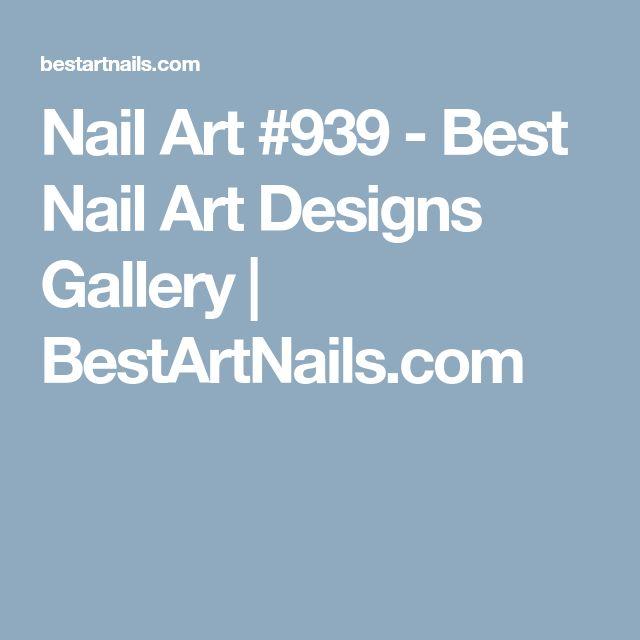 Nail Art #939 - Best Nail Art Designs Gallery | BestArtNails.com