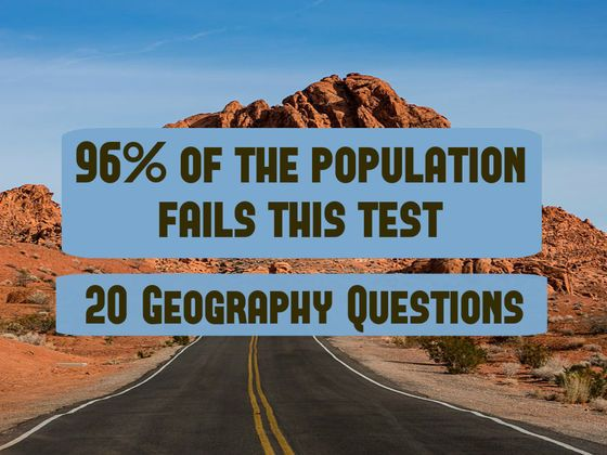 Only 4% Of The Population Can Pass This Geography Test  I'm in the top 4%