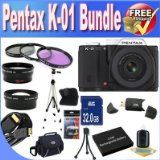 Get Low-cost Pentax K-01 16MP APS-C CMOS Compact Technique Camera With 18-55mm and 55-200mm Lens (Black) + Prolonged Daily life Battery + 32GB SDHC Class 10 Memory Card + USB Card Reader + Memory Card Wallet + Deluxe Scenario w/Strap + Shock Proof Deluxe Case + Mini HDMI to HDMI Cable + 3 Piece Specialist Filter Package + Expert Total Dimensions Tripod + Super Extensive Angle Lens + 2x Telephoto Lens + Accessory Saver Bundle! Evaluate Rates - http://buyingmanual.com/get-low-c