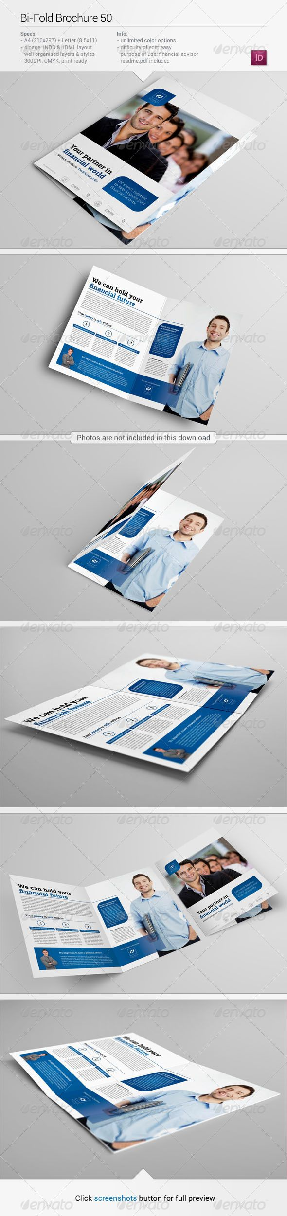 letter of resignation free template%0A BiFold Brochure