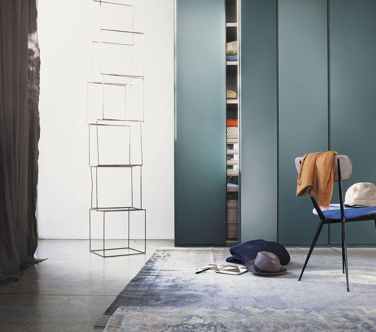 87 best dressing images on pinterest - Armoire contemporaine portes coulissantes ...