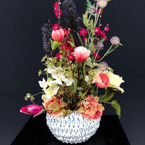 Afbeeldingsresultaat voor schaal zijde bloem