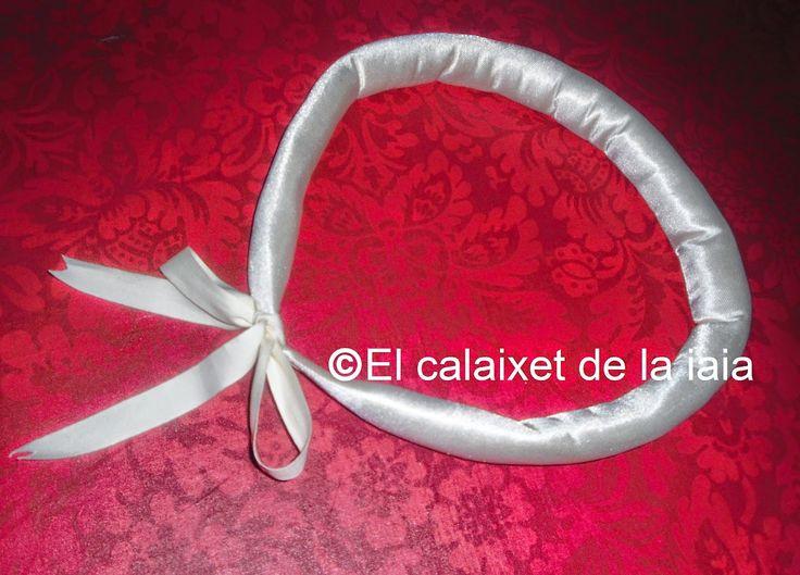 Como hacer un rulo para la falda de fallera o valenciana paso a paso | El calaixet de la iaia