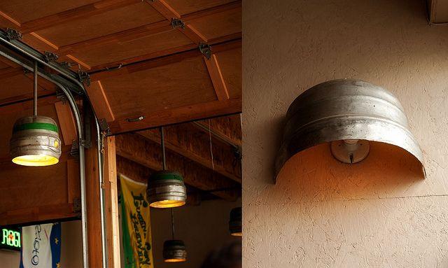 beer kegs light fixture | Beer keg light fixtures | Flickr - Photo Sharing!