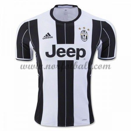 Billige Fotballdrakter Juventus 2016-17 Hjemme Draktsett Kortermet