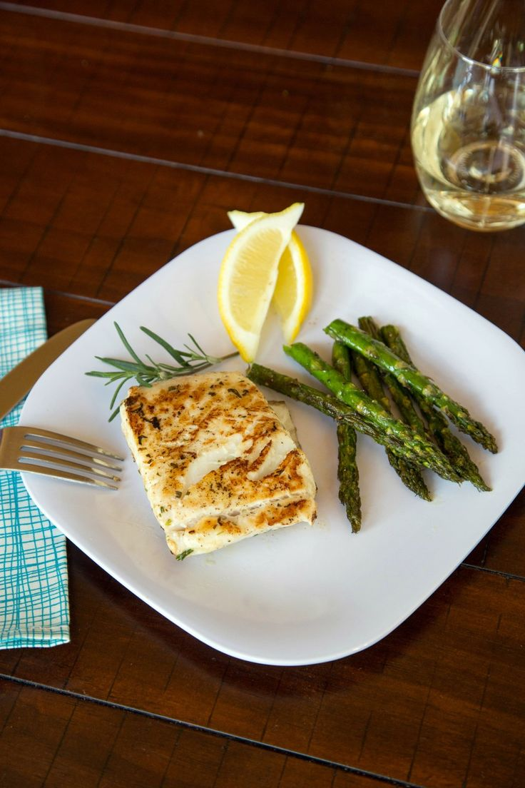 Grilled Halibut Steaks ‹ Hello Healthy