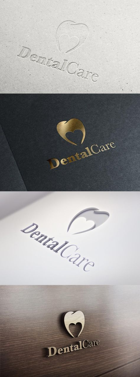 DentalCare logo variations #dental #logo
