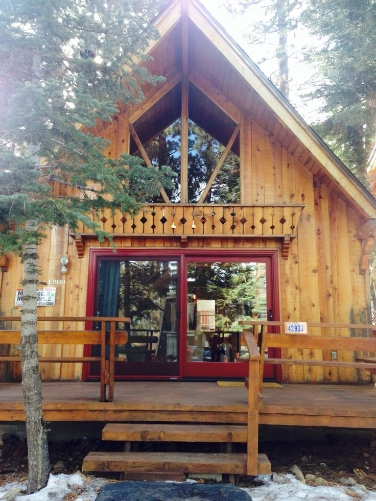 New Cranberry Windows And Slider. Big Bear Lake Best Rental Cabin.