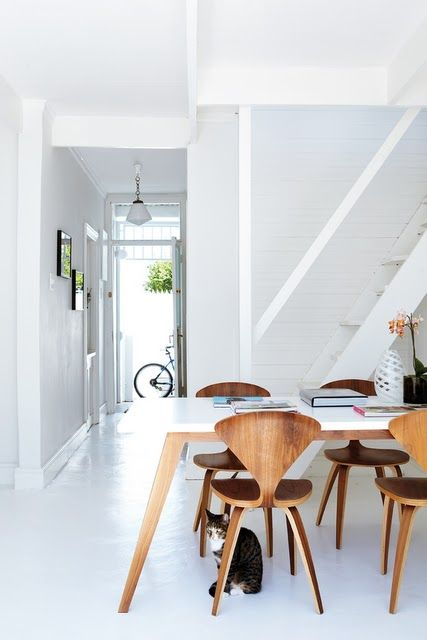 White With Wood. Cherner Side Chair | SmartFurniture.com