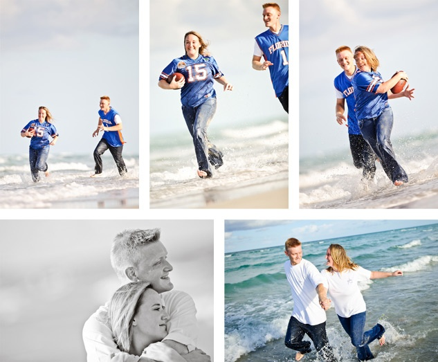 Football Engagement Photos | The Pantry | Cake and Pictures