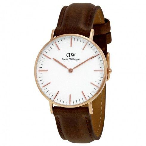 Daniel Wellington Classic Bristol White Dial Ladies Quartz Watch 0511DW