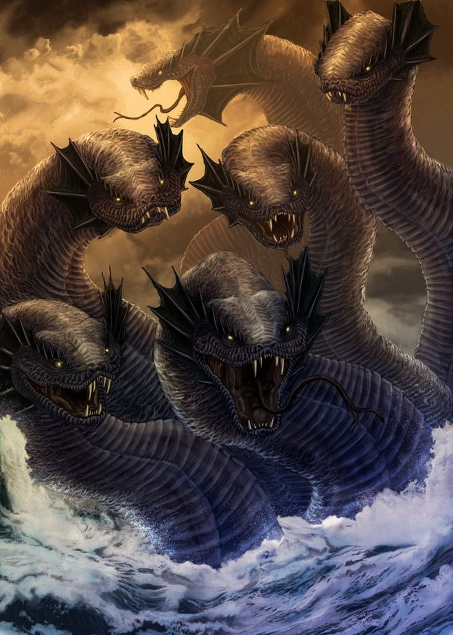 Mythical creatures Hydra