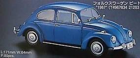 Hasegawa 67 Volkswagen Beetle Plastic Model Car Kit 1/24 Scale #21203