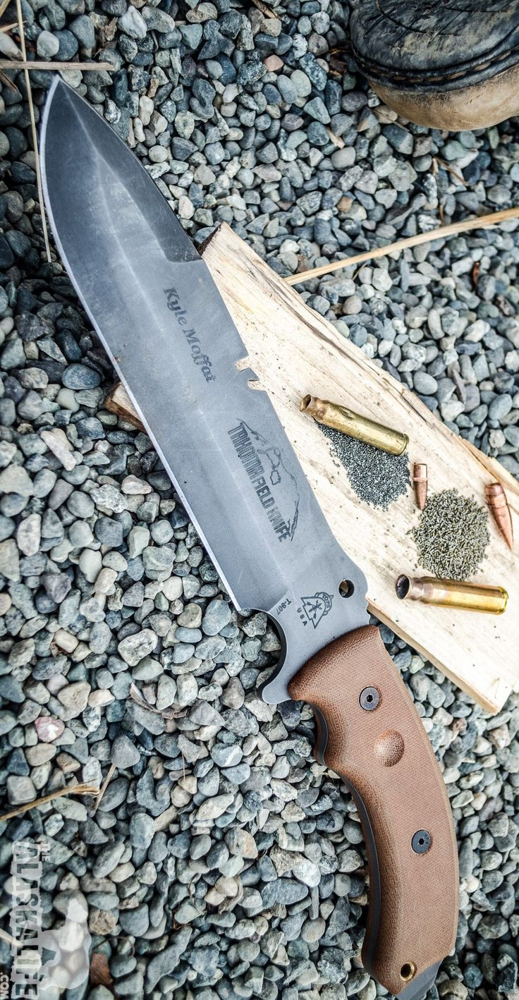 Tops Knives Tahoma Field Tactical Fixed Survival Knife Blade