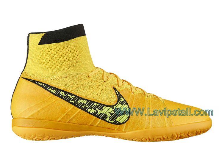 "Nike Elastico Superfly IC ""Volt"" Orange laser/Noir/Volt/Blanc style:641597_800 Nike Elastico Superfly IC,Nike mercurial,Nike Mercurial pas cher,Officiel Nike mercurial"